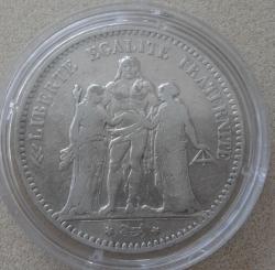 Image #1 of 5 Francs  1876 A