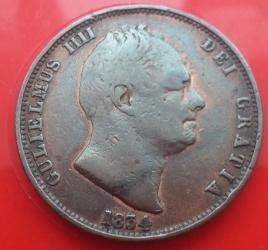 Imaginea #1 a Half Penny 1834
