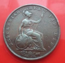 Imaginea #2 a Half Penny 1834
