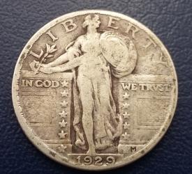 Image #1 of Quarter dollar 1929
