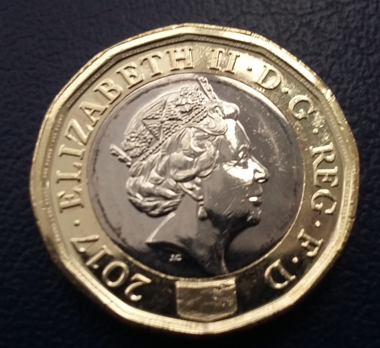 1 Pound 2017 Elizabeth Ii 1952 Present Great Britain Coin 41019