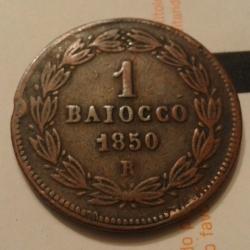 Image #1 of 1 Baiocco 1850 (V) R