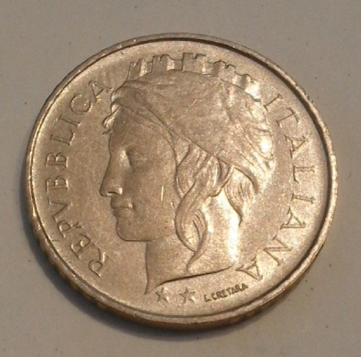 100 Lire 1993 R Small Head Republic 1946 2001 Italy