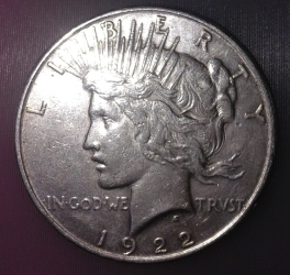 Image #1 of Peace Dollar 1922