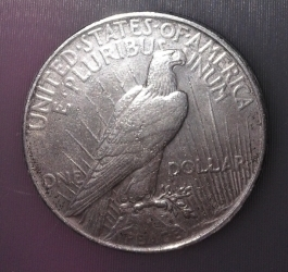 Image #2 of Peace Dollar 1922