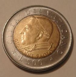 Image #1 of 500 Lire 2001 (XXIII)