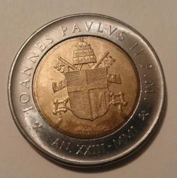Image #2 of 500 Lire 2001 (XXIII)