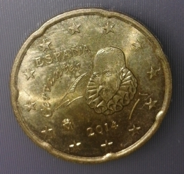 Image #1 of 20 Euro Cent 2014