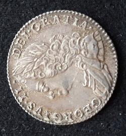 Image #1 of Sixpence 1757