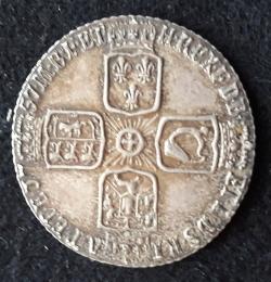 Image #2 of Sixpence 1757