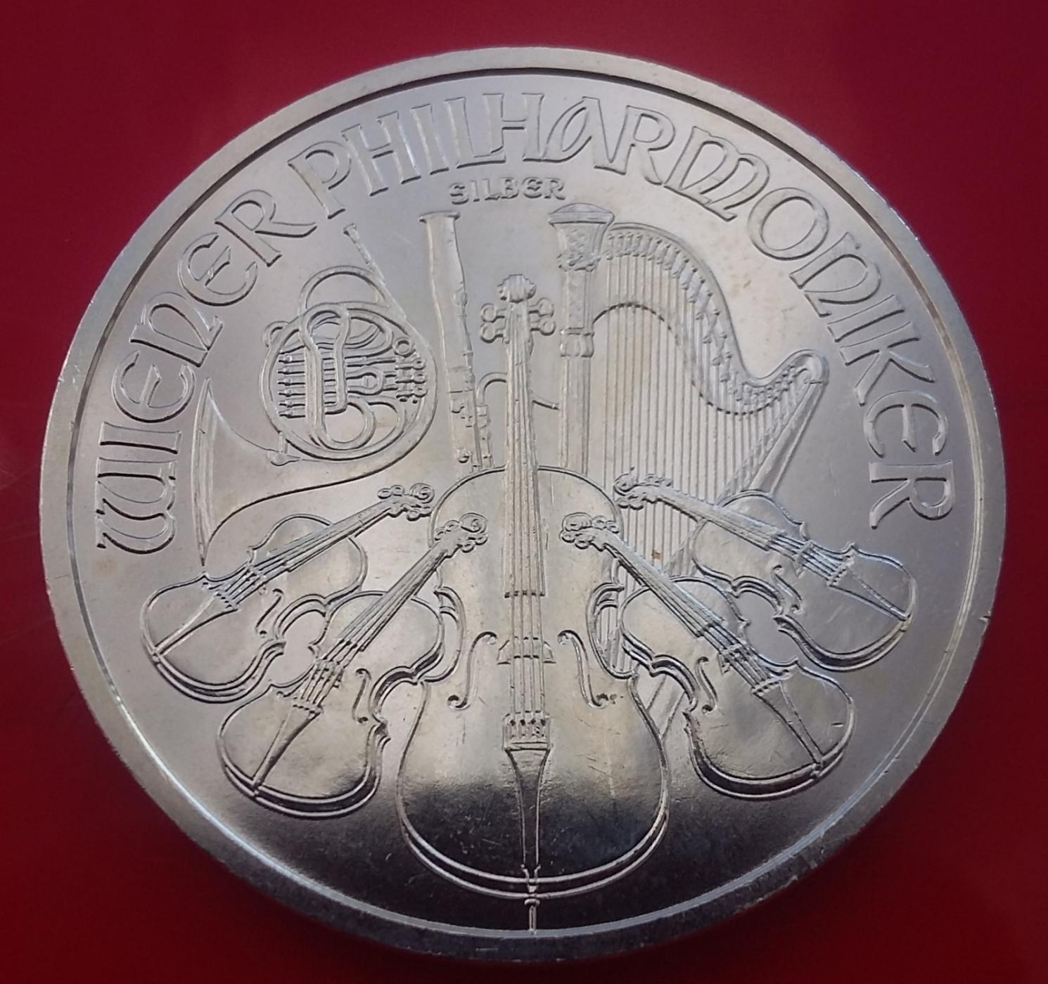 1,50 Euro 2013 - Vienna Philharmonic, Commemorative - 1999