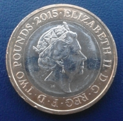 Image #1 of 2 Pounds 2015 - Magna Carta