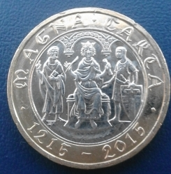 Image #2 of 2 Pounds 2015 - Magna Carta