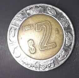 Image #2 of 2 Pesos 2003