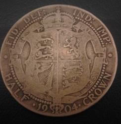 Image #2 of Half Crown 1904