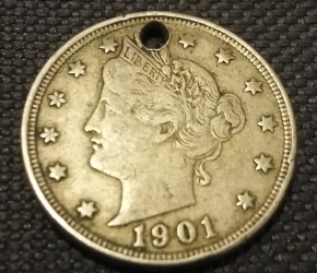 Image #1 of Liberty Head Nickel 1901