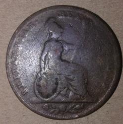 Image #2 of Farthing 1826