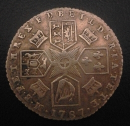 Image #2 of Sixpence 1787 (with hearts)