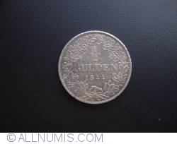 Image #2 of 1/2 Gulden  1844