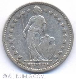 Image #1 of 1 Franc 1908