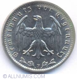 Image #1 of 1 Reichsmark 1934 F