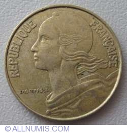 Image #2 of 20 Centimes 1988