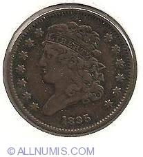 Image #1 of Classic Half Cent 1835