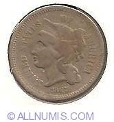 Image #1 of Three Cent Piece 1867