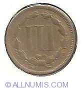 Three Cent Piece 1867