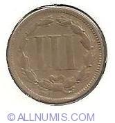 Image #2 of Three Cent Piece 1867