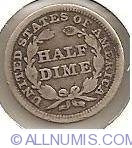 Image #2 of Half Dime Seated Liberty 1853