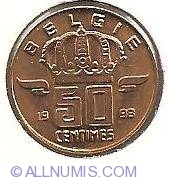 50 centimes 1998 (Belgie)