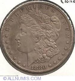 Image #2 of Morgan Dollar 1880 S