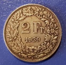 Imaginea #1 a 2 Franci 1939 B