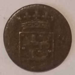 Image #2 of 1 Duit 1750 (West Friesland)