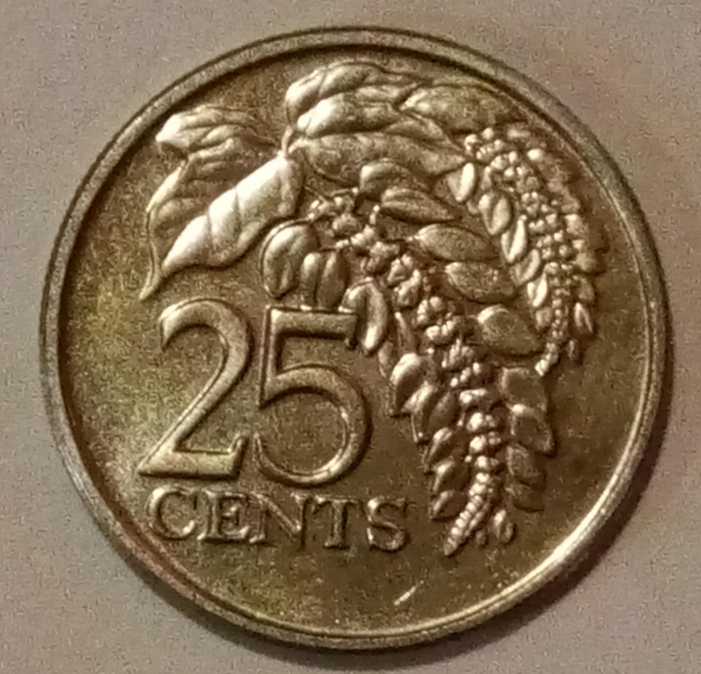 Coin Sets of All Nations Trinidad /& Tobago 1978-1994 UNC $1 1979 50 cents 1978