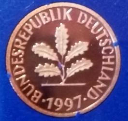 1 Pfennig 1997 G