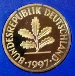Image #2 of 10 Pfennig 1997 G