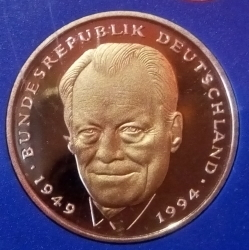 Image #2 of 2 Mark 1997 G - Willy Brandt