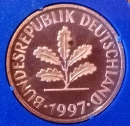 Image #2 of 2 Pfennig 1997 G