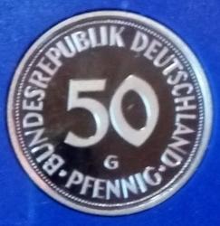 Imaginea #1 a 50 Pfennig 1997 G