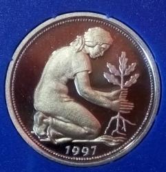 Imaginea #2 a 50 Pfennig 1997 G