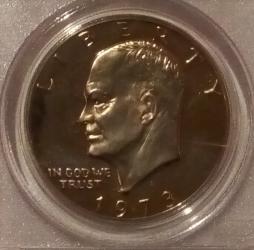 Imaginea #1 a 1 Dollar 1973 S