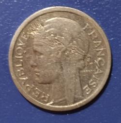 Image #2 of 1 Franc 1941 - Heavy type