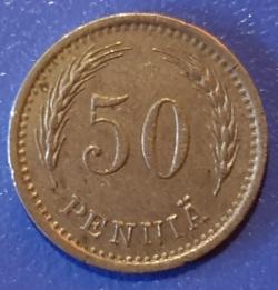 Image #1 of 50 Pennia 1937