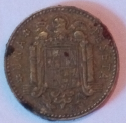Image #1 of 1 peseta 1975 (78) - British Royal Mint