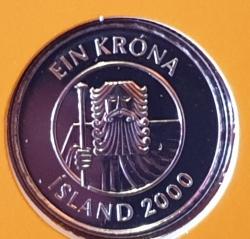 Imaginea #2 a 1 Krona 2000