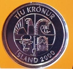 Imaginea #2 a 10 Kronur 2000