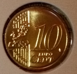 Image #1 of 10 Euro Cent 2018
