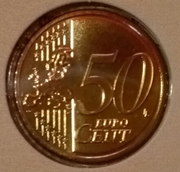 Image #1 of 50 Euro Cent 2018